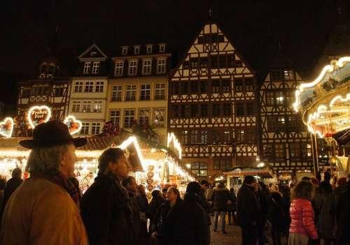 Christmas Market Frankfurt Christmas