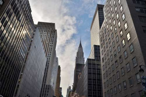 Chrysler Building Manhattan New York Architecture