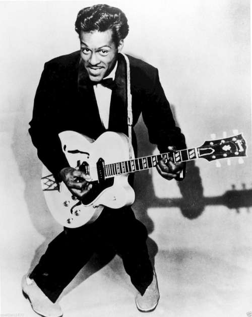 Chuck Berry Rock And Roll Musician Singer Performer