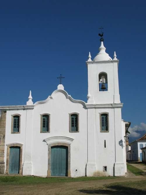 Church Paraty Brazil
