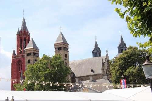 Church Church Tower Tower Maastricht Center