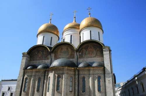 Church Russian Archetecture Russian Orthodox