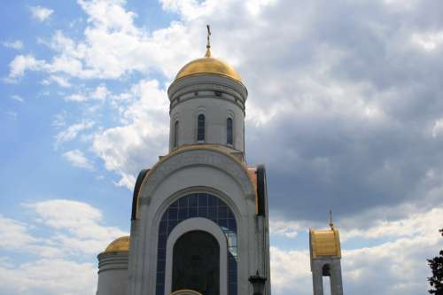 Church Building Russian Orthodox Architecture