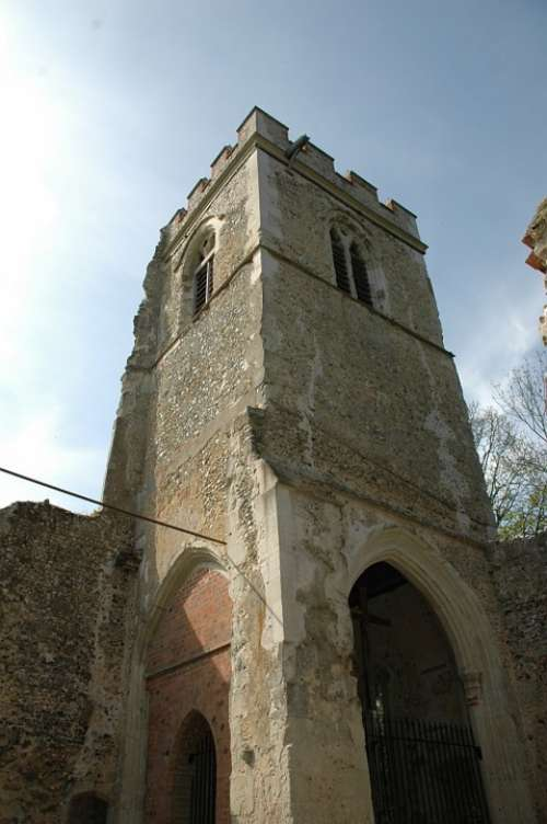 Church Building Tower