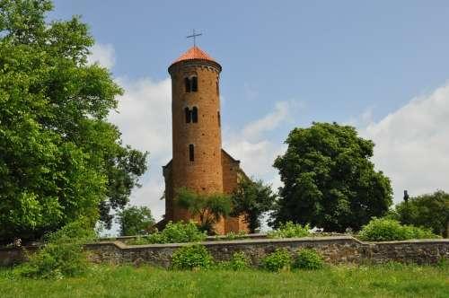 Church Monument Romanesque Style Inowłódz Poland