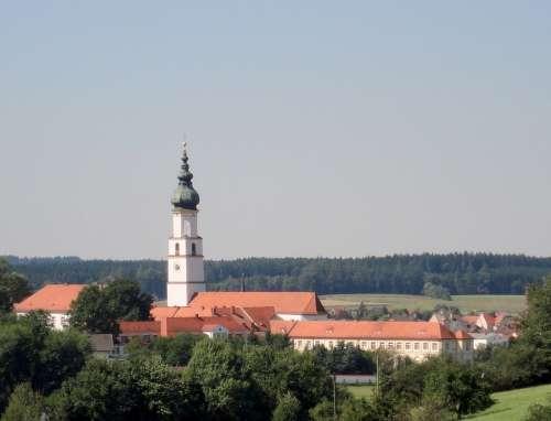 Church Neumarkt St Veit Monastery Monastery Church