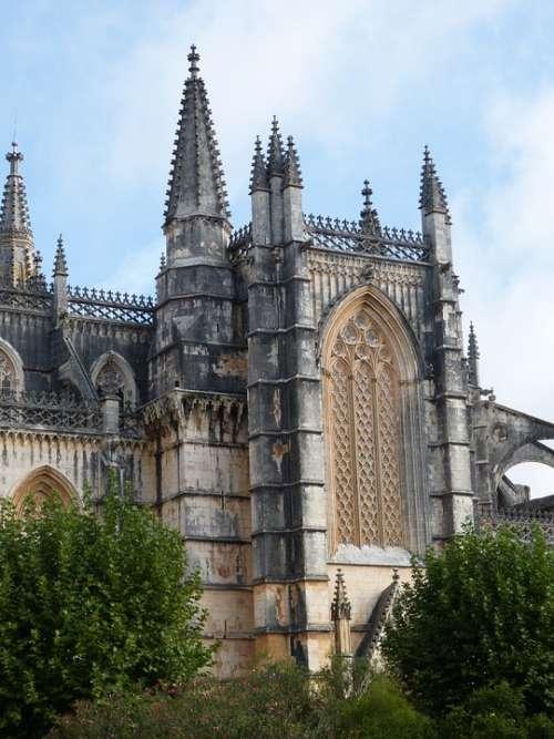 Church Batalha Unesco Building Architecture