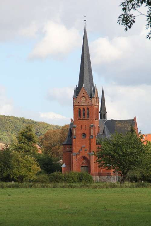 Church Building Germany Tower