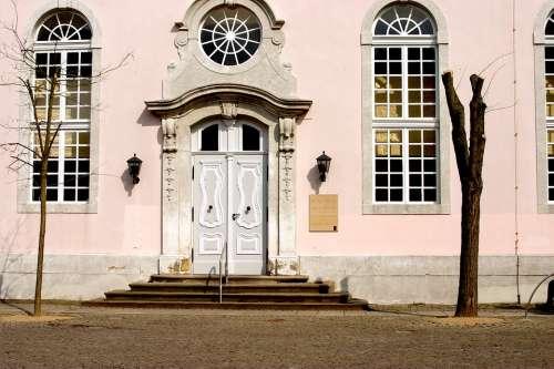 Church Building Germany Architecture Window Door