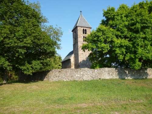 Church Börzsöny Landscape