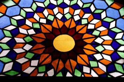 Church Monastery Cathedral Sun Mosaic