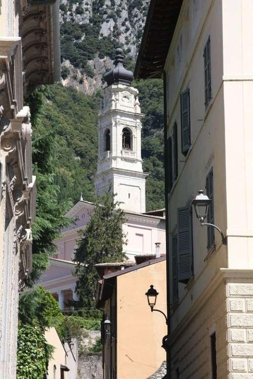 Church Village Lake Garda Italy