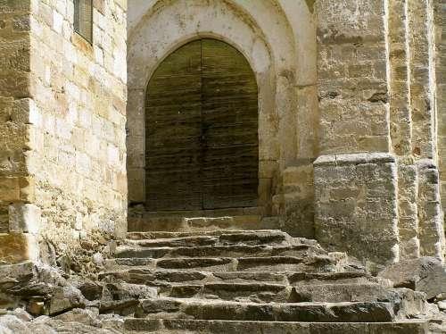 Church Input Old France Dordogne
