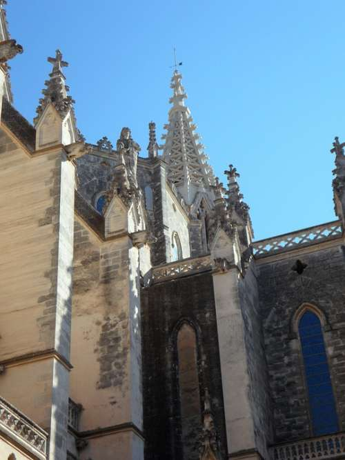 Church Facade Architecture Building Spain