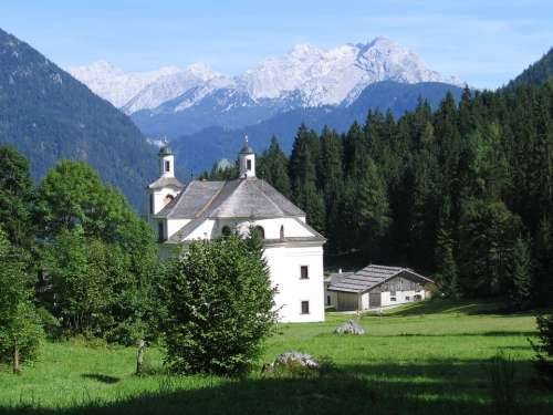 Church Maria Kirchenthal Landscape Forest