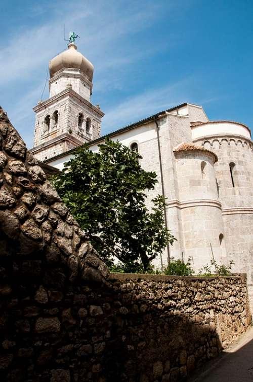 Church Croatia Istria August Borgo