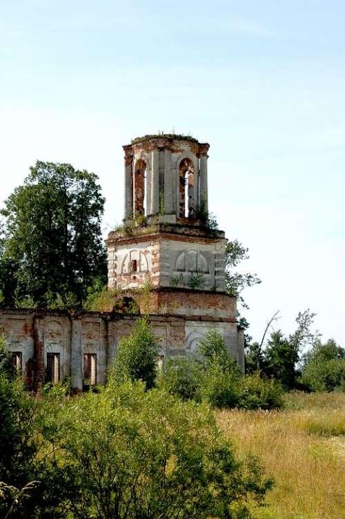 Church Building Architecture Fortress Stone Masonry