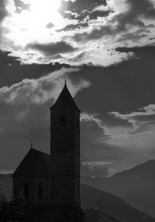 Church St Kathrein Avelengo Hafling Südtirol