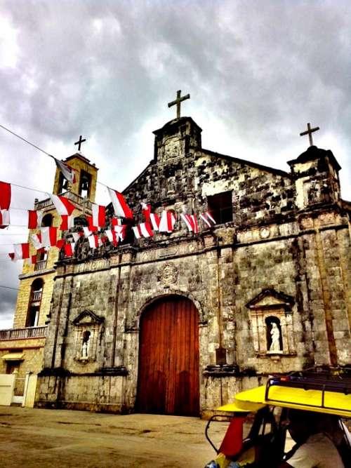 Church Bantayan Architecture Island Old