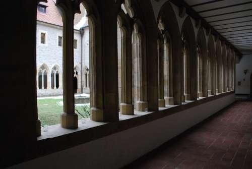 Church Monastery Erfurt Augustinian Monastery
