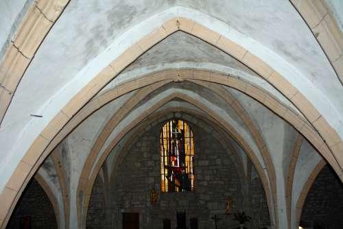 Church Ceiling Church Arches Church Interior