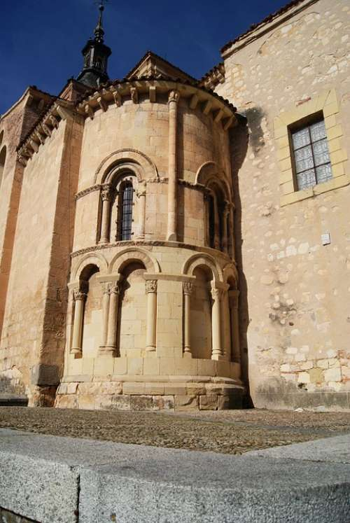 Church Of San Martín Segovia Architecture Spain