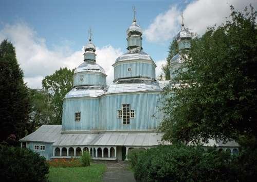 Church Of St Nicholas Nicholas Vineyard Ukraine