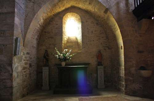 Church Sunlight Stone Arch Arch Religious Archway