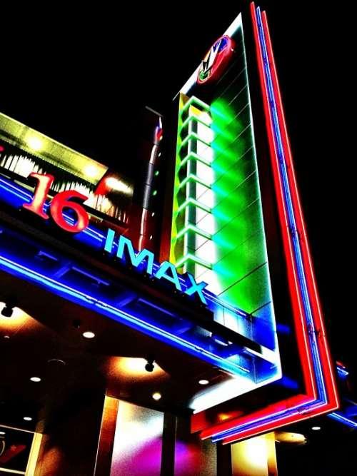 Cinema Film Theater Theatre Colorful Movie Imax