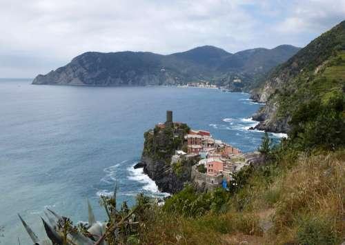 Cinque Terre Amalfi Coast Vacations Italy Panorama