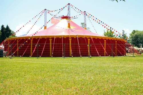 Circus Tent Circus Tent Red Meadow Nature