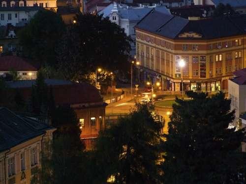 City Trutnov Night