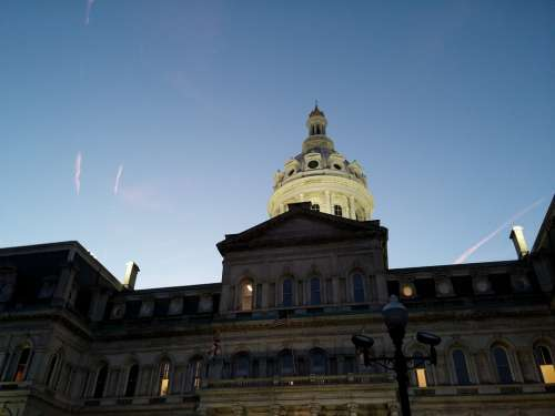 City Hall City Baltimore Building Architecture