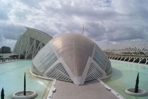 City Of Arts And Sciences Building Tourism