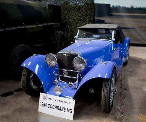Classic Car Cochrane Mg 1954 Cochrane
