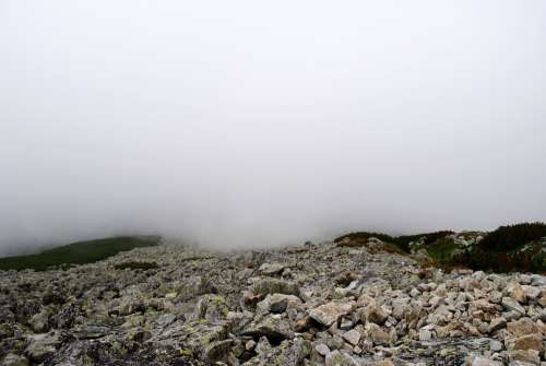 Cliff Stone Mountain Nature Rocks Tatra Mountains