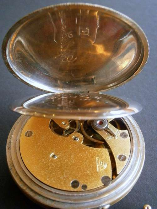 Clock Movement Pocket Watch Horology Watchmaker