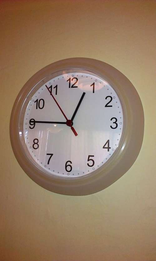 Clock Time Tips Minute Hours