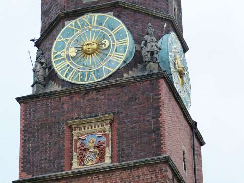 Clock Tower Town Hall Time Clock Tower Time Of