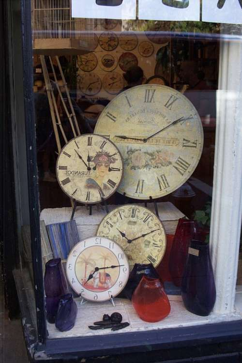 Clocks Antiques Time Old Vintage