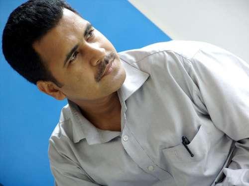 Close View Man Men Face Gentleman Faces Indian