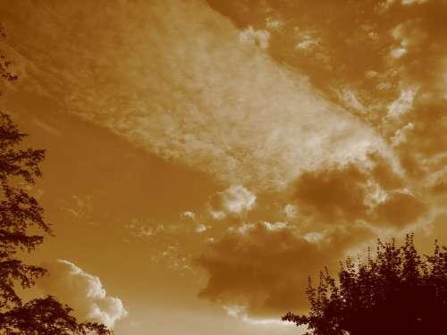 Cloud Sky Clouds Form Clouds Abendstimmung