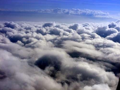 Cloud Sky White Plane Day The Haze