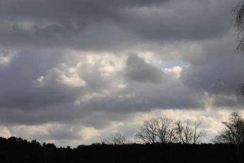 Cloudiness Sky Atmosphere Weather Clouds