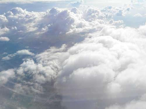 Clouds Cloud Aircraft Flight Above The Clouds