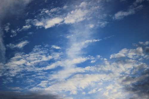Clouds Nature Blue Sky Beautiful Afternoon