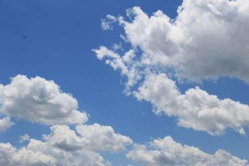 Clouds Blue Sky Weather Sky Day Sunlight