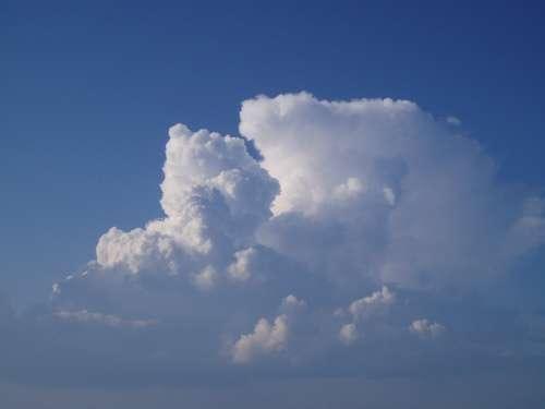 Clouds Sky Blue Nature Weather Light