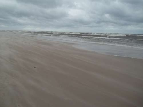 Clouds Storm The Baltic Sea Wind