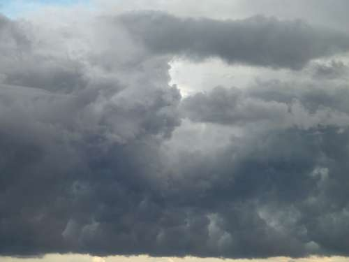 Clouds Storm Sky Cloudy Grey Climate